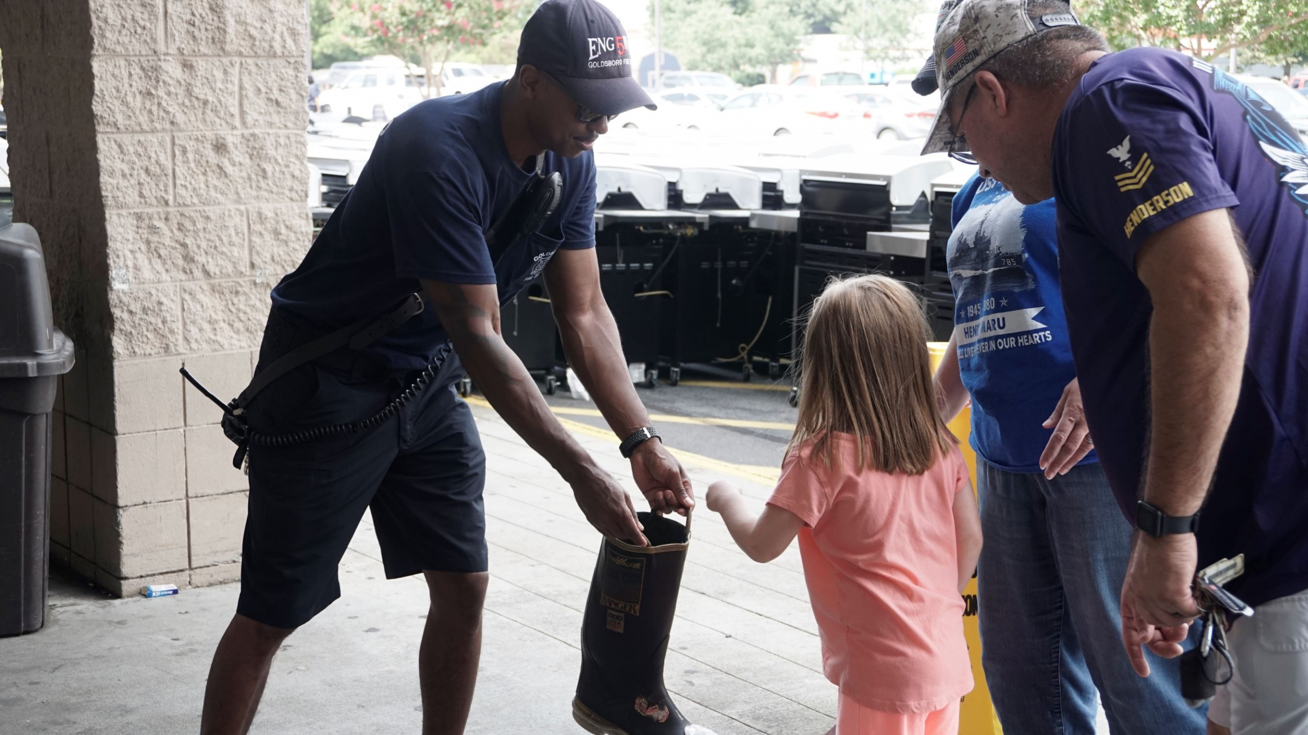 Firefighters Raise Over $8,000 For MDA During Three Day Effort