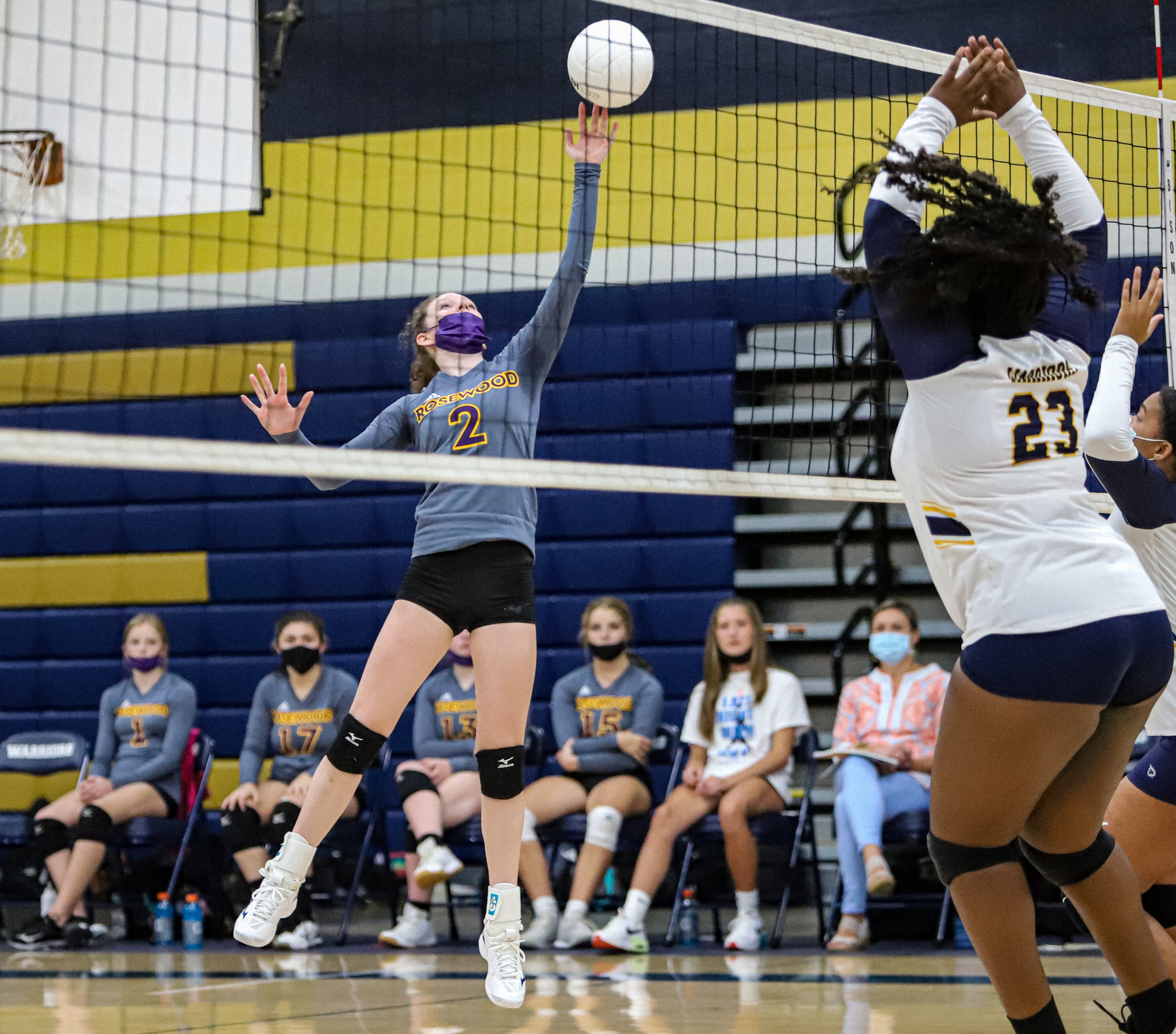 Volleyball: Rosewood Earns Four-set Win Over Eastern Wayne (PHOTO GALLERY)
