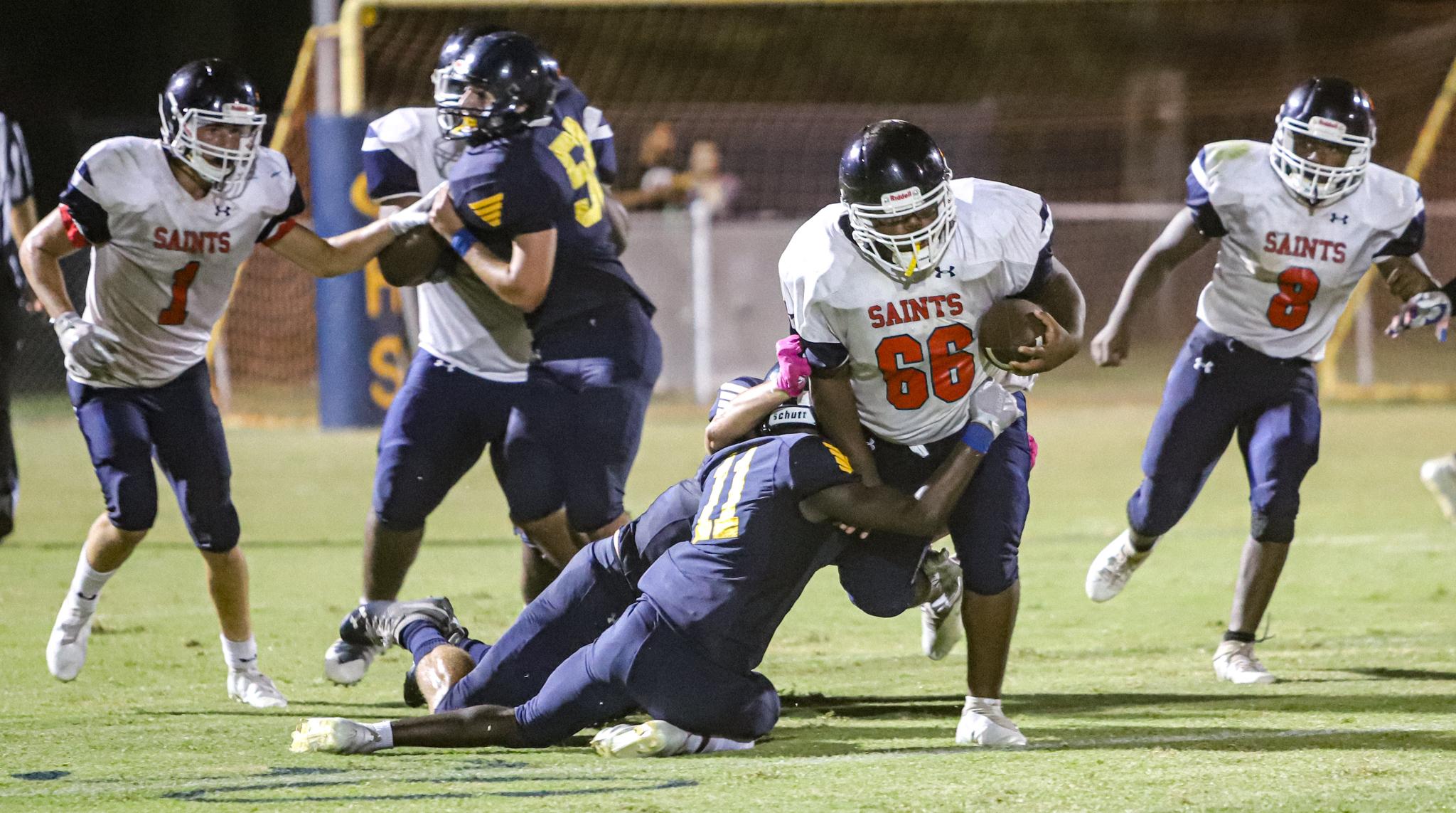 Football: Southern Wayne Topples Goldsboro, Ends Long Skid On Gridiron (PHOTO GALLERY)