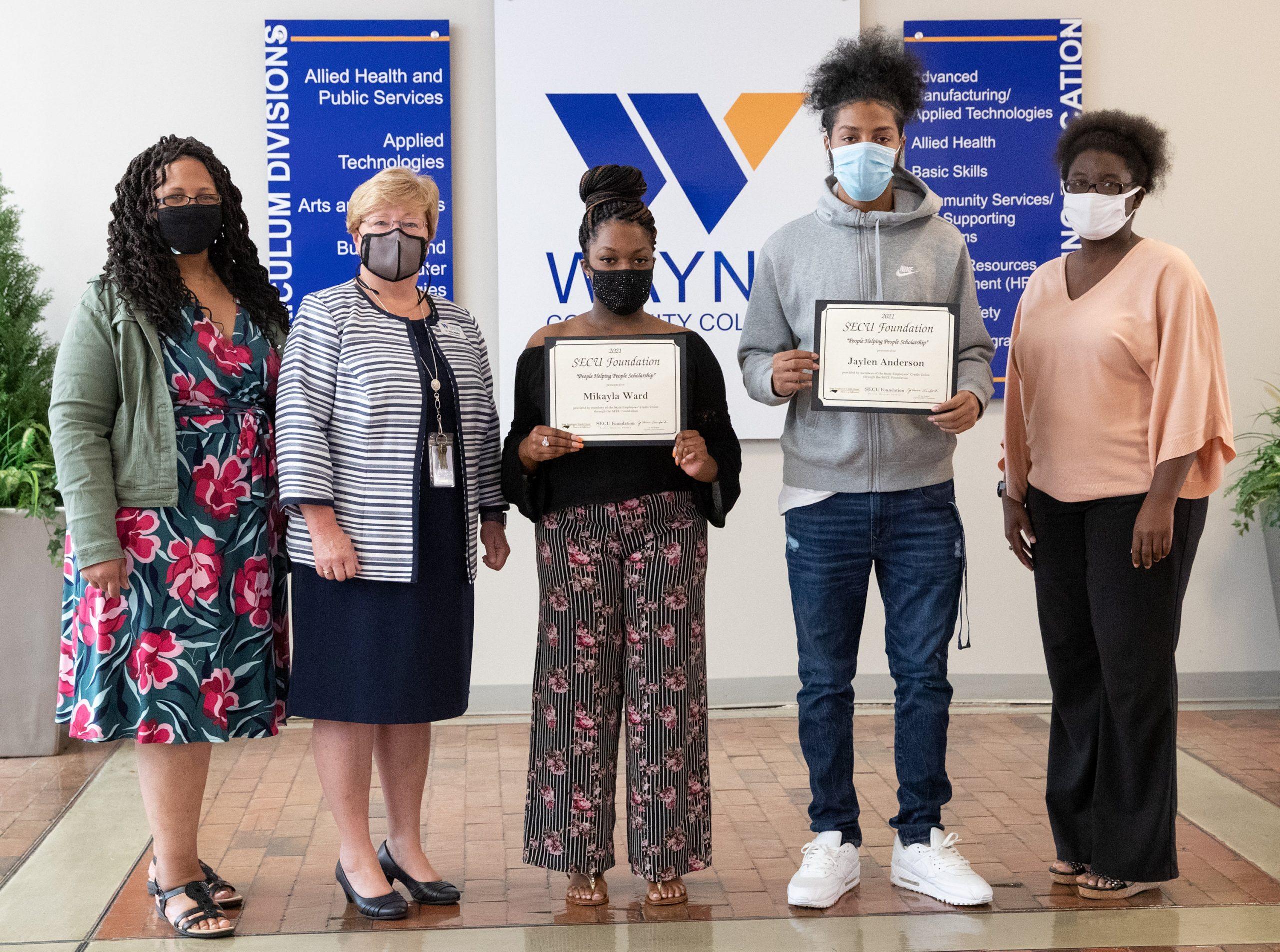 WCC Students Awarded SECU Scholarships