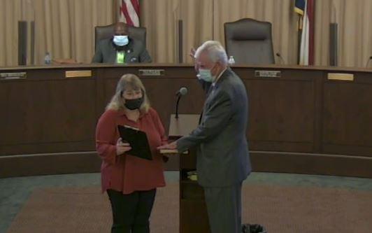 Ham Sworn in As Goldsboro's New Mayor
