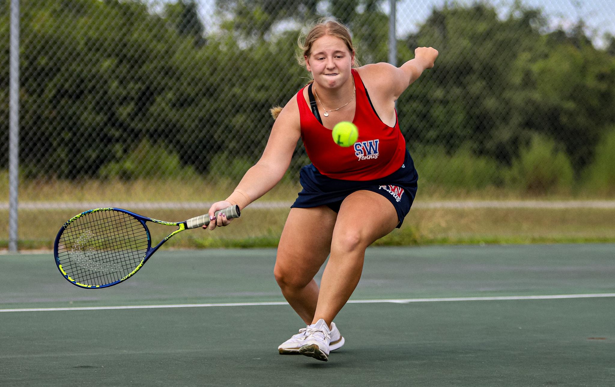 Girls Tennis: Southern Wayne Goes Up Against Smithfield-Selma (PHOTO GALLERY)