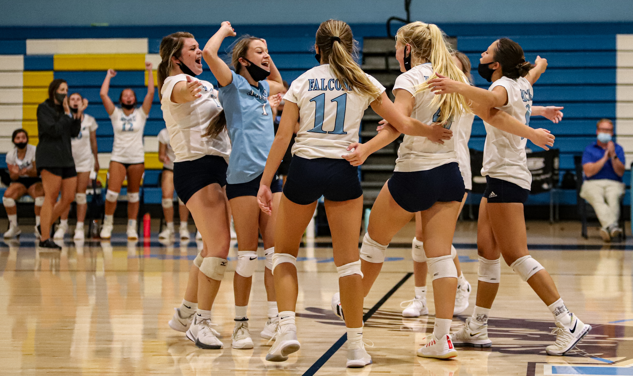 Volleyball: C.B. Aycock Bests South Johnston In Four Sets (PHOTO GALLERY)