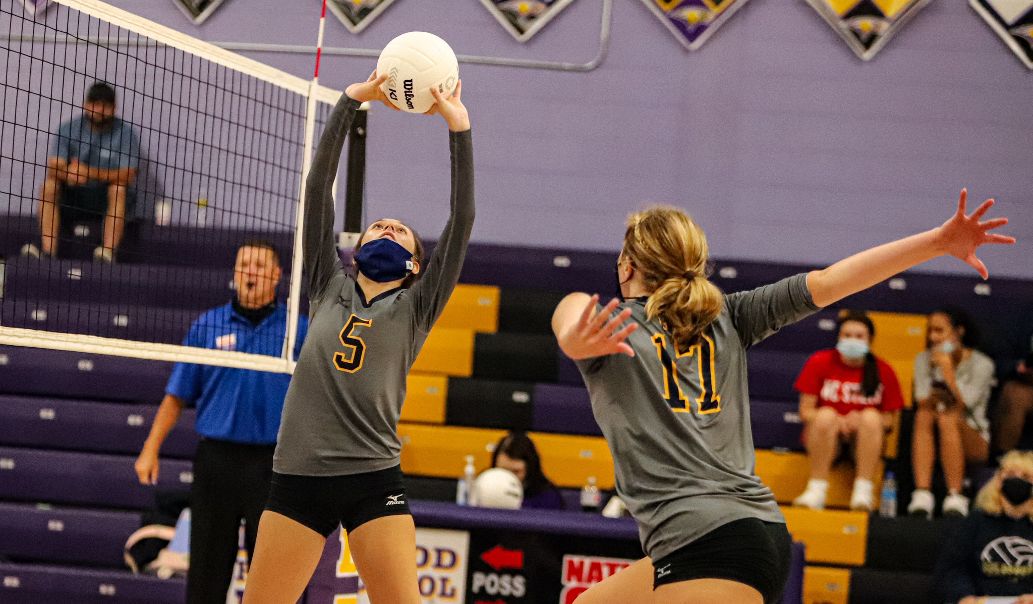 Volleyball: Goldsboro Sweeps Rosewood (PHOTO GALLERY)