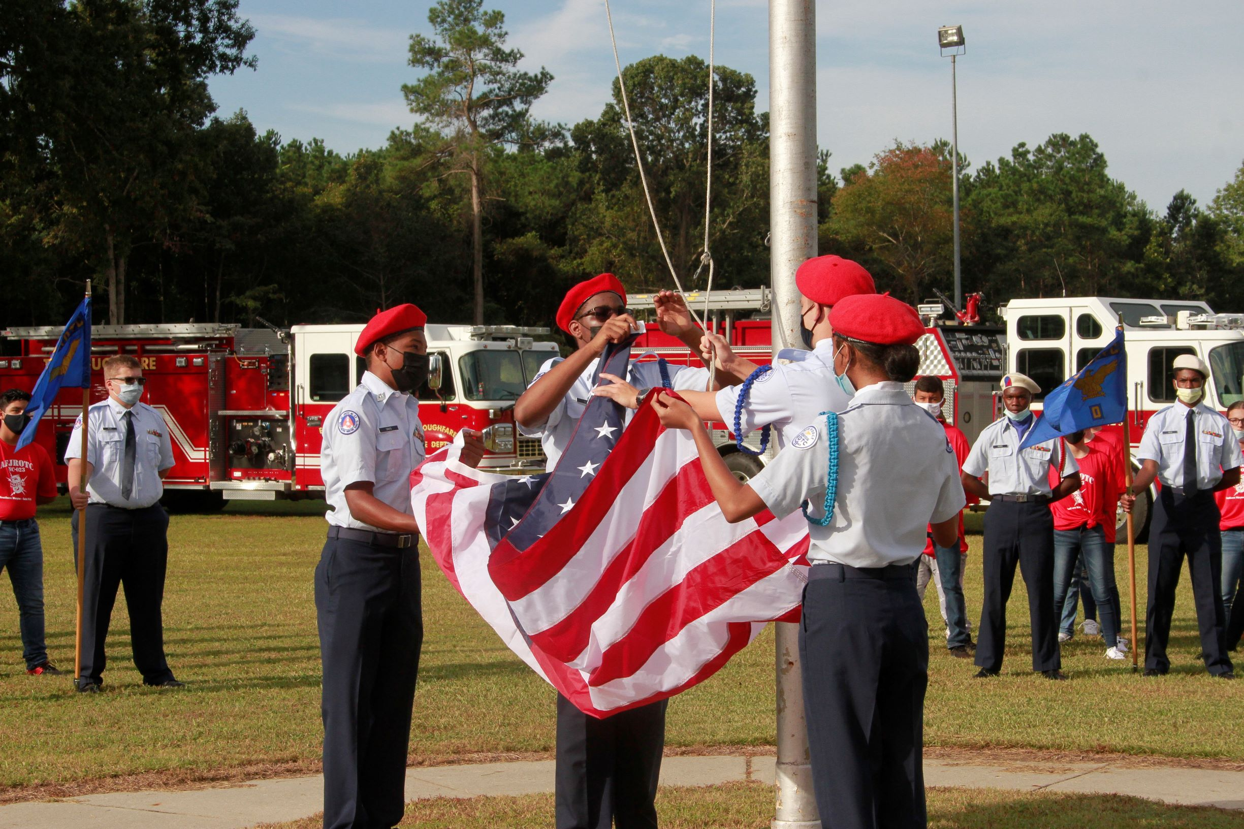 Southern Wayne H.S. Marks Anniversary Of 9/11 (PHOTO GALLERY)