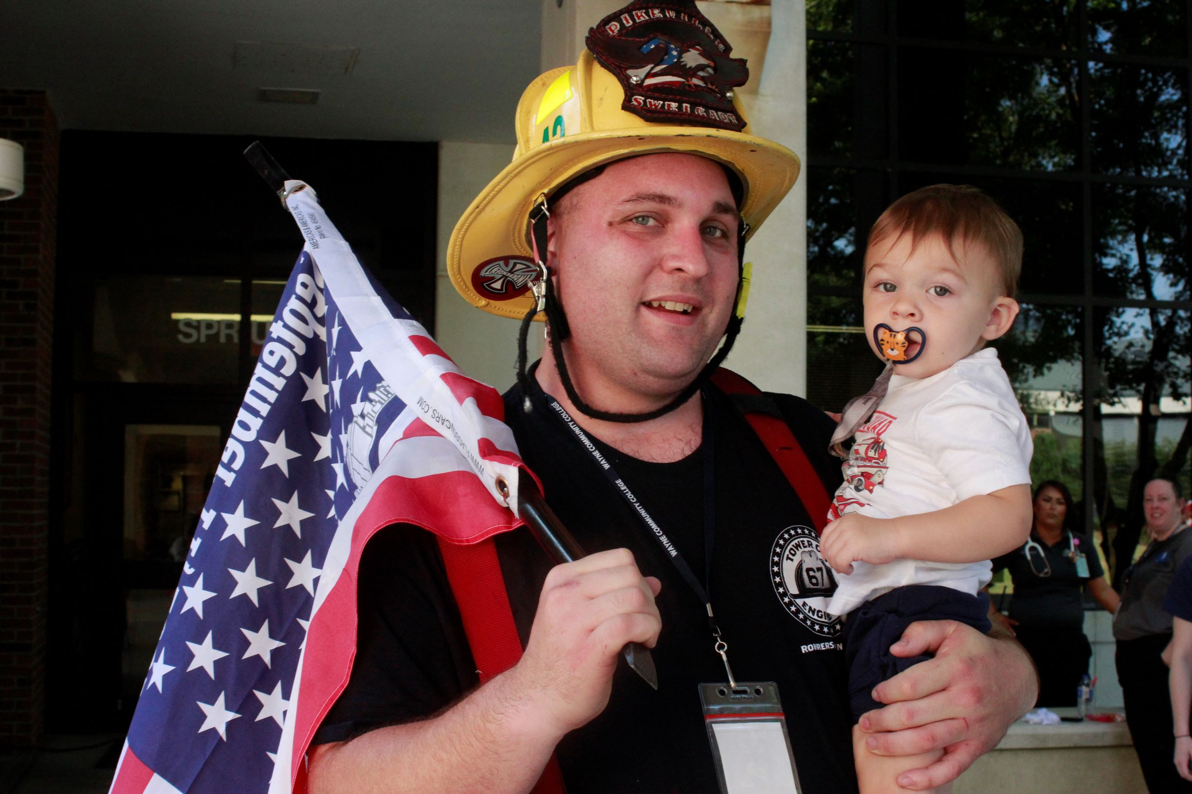 WCC Students Follow In The Footsteps Of Their First Responder Brethren On 9/11 (PHOTOS)