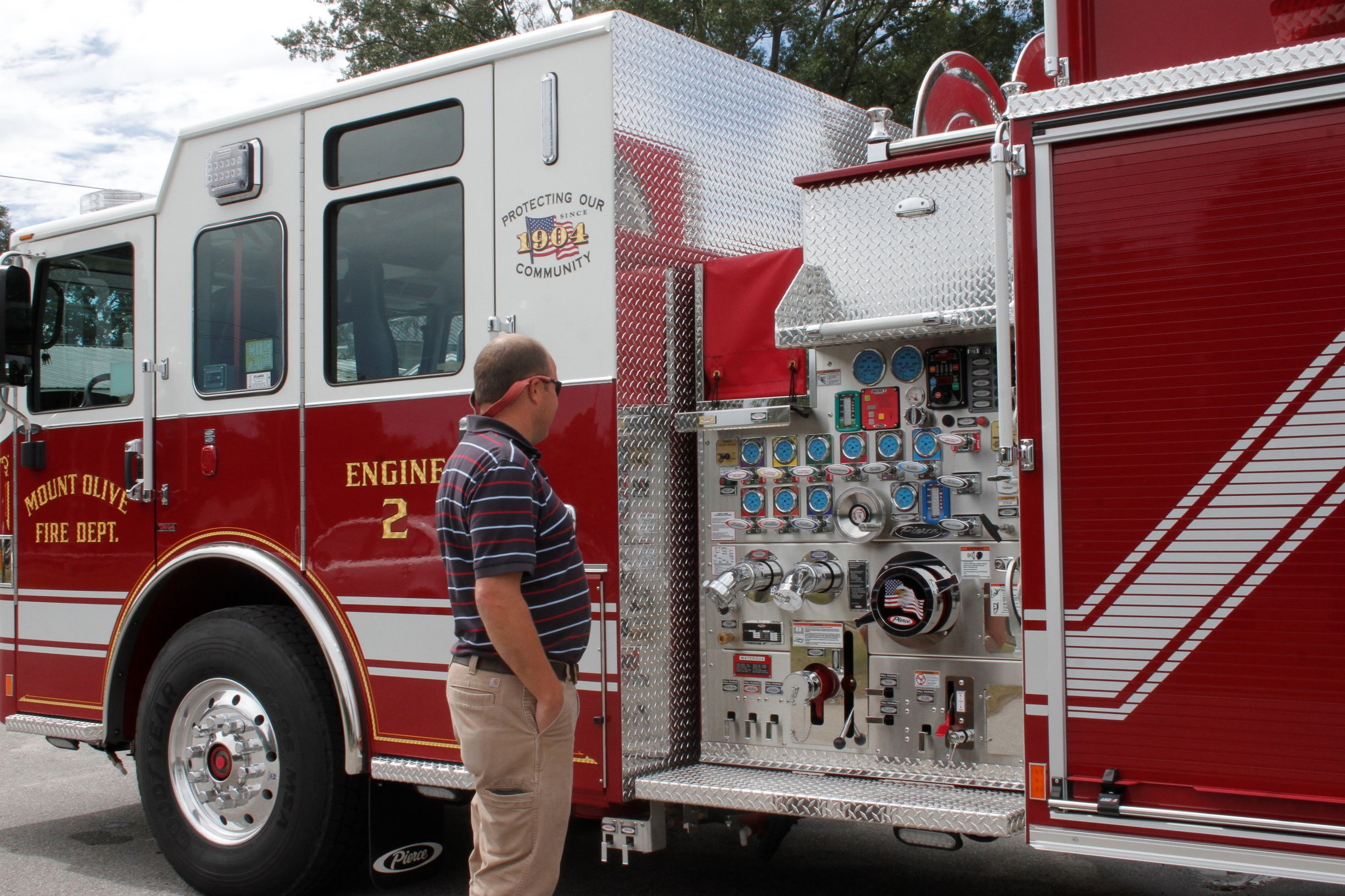 Mount Olive Receives Two New Fire Trucks (PHOTO GALLERY)