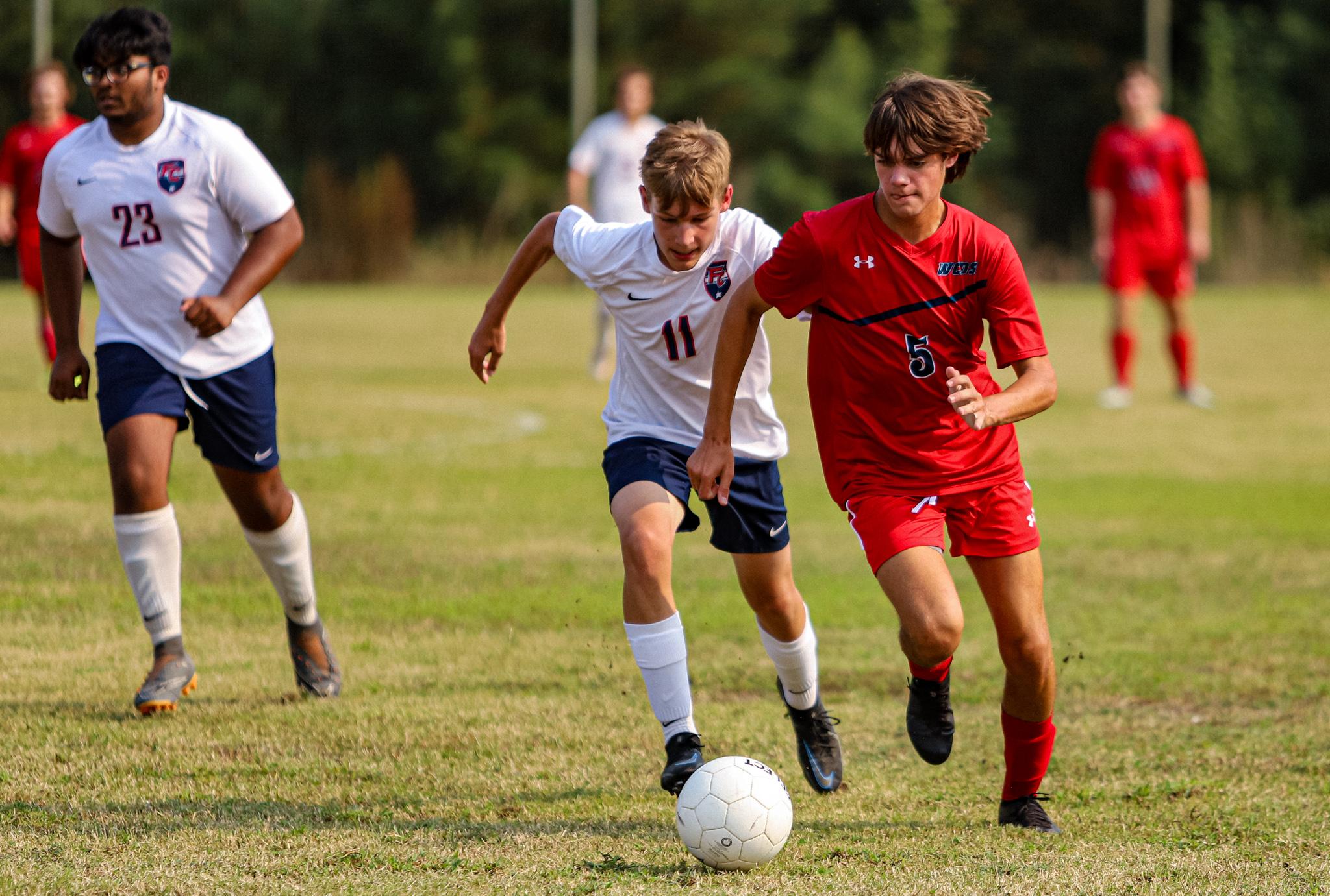 Boys Soccer: WCDS Dominates Freedom Christian Academy (PHOTO GALLERY)