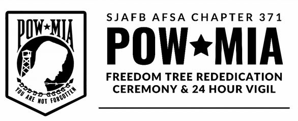 Freedom Tree Rededication To Mark Start Of 24-Hour POW/MIA Event