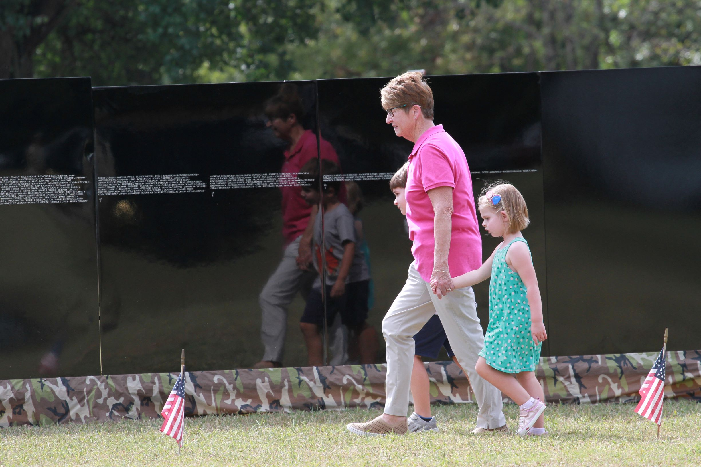 """WCC Marks POW/MIA Day With Ceremony For """"The Moving Wall"""" (PHOTO GALLERY)"""