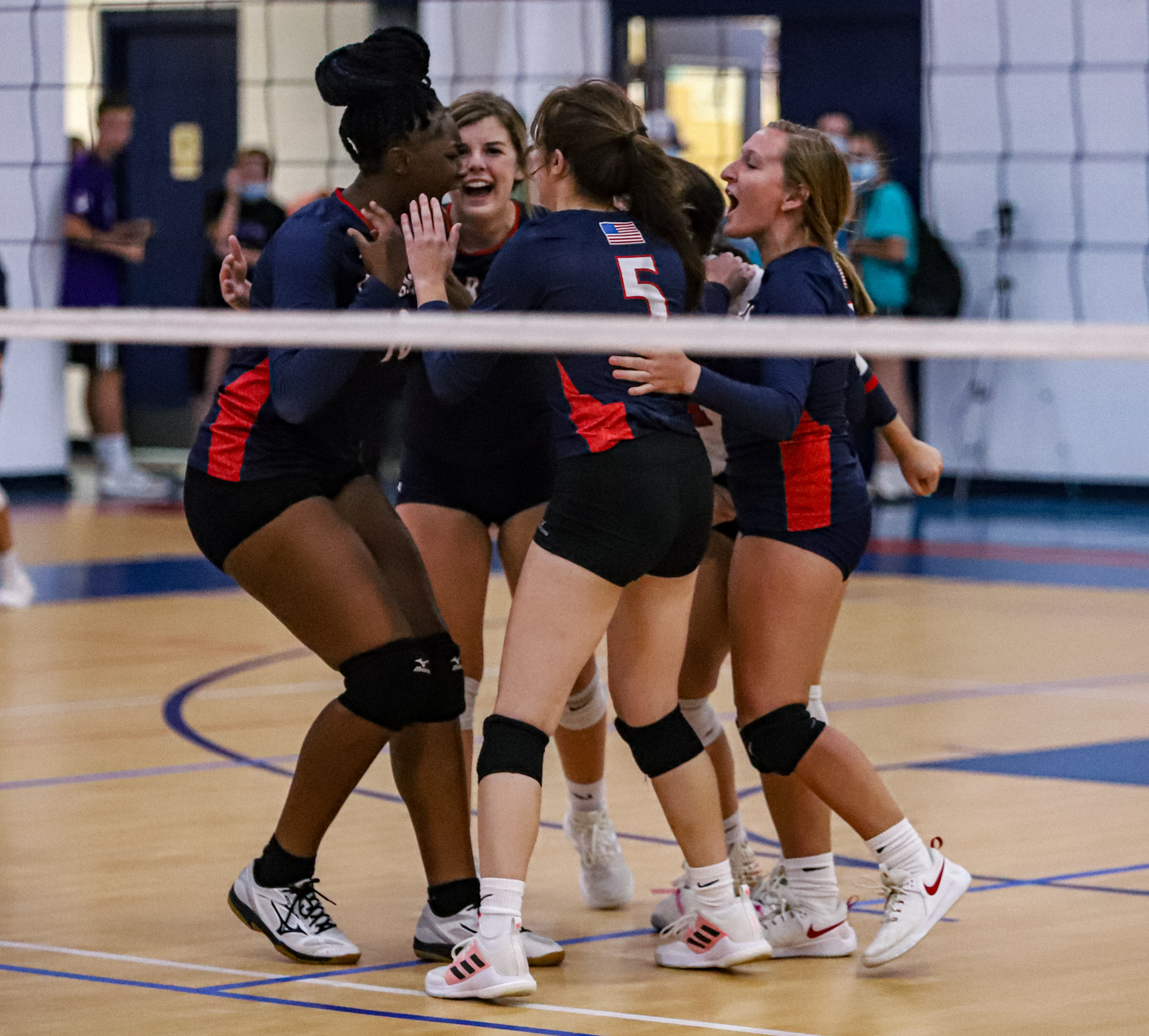 Volleyball: WCDS Sweeps Wayne Christian (PHOTO GALLERY)