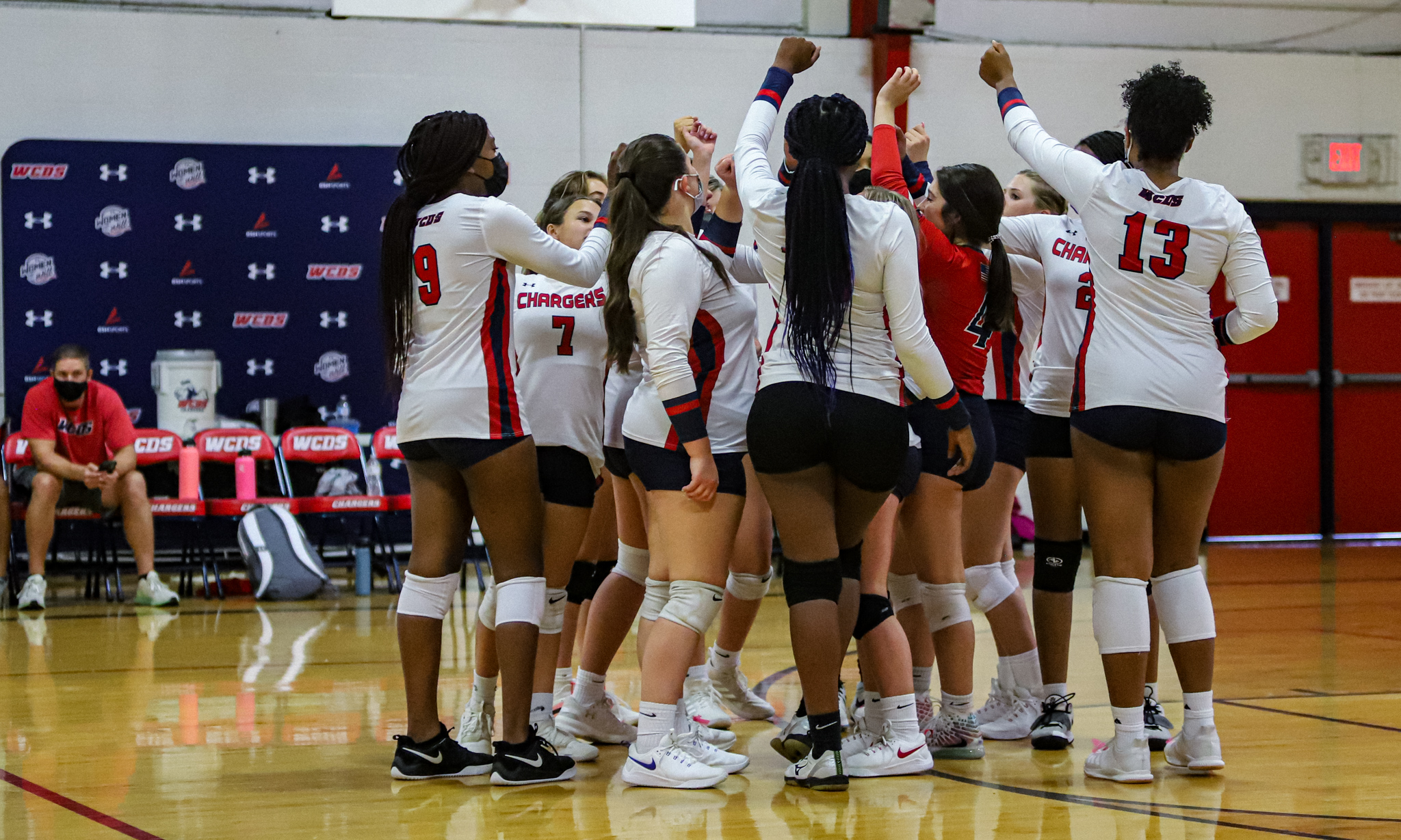 Volleyball: WCDS Sweeps Liberty Christian Academy (PHOTO GALLERY)