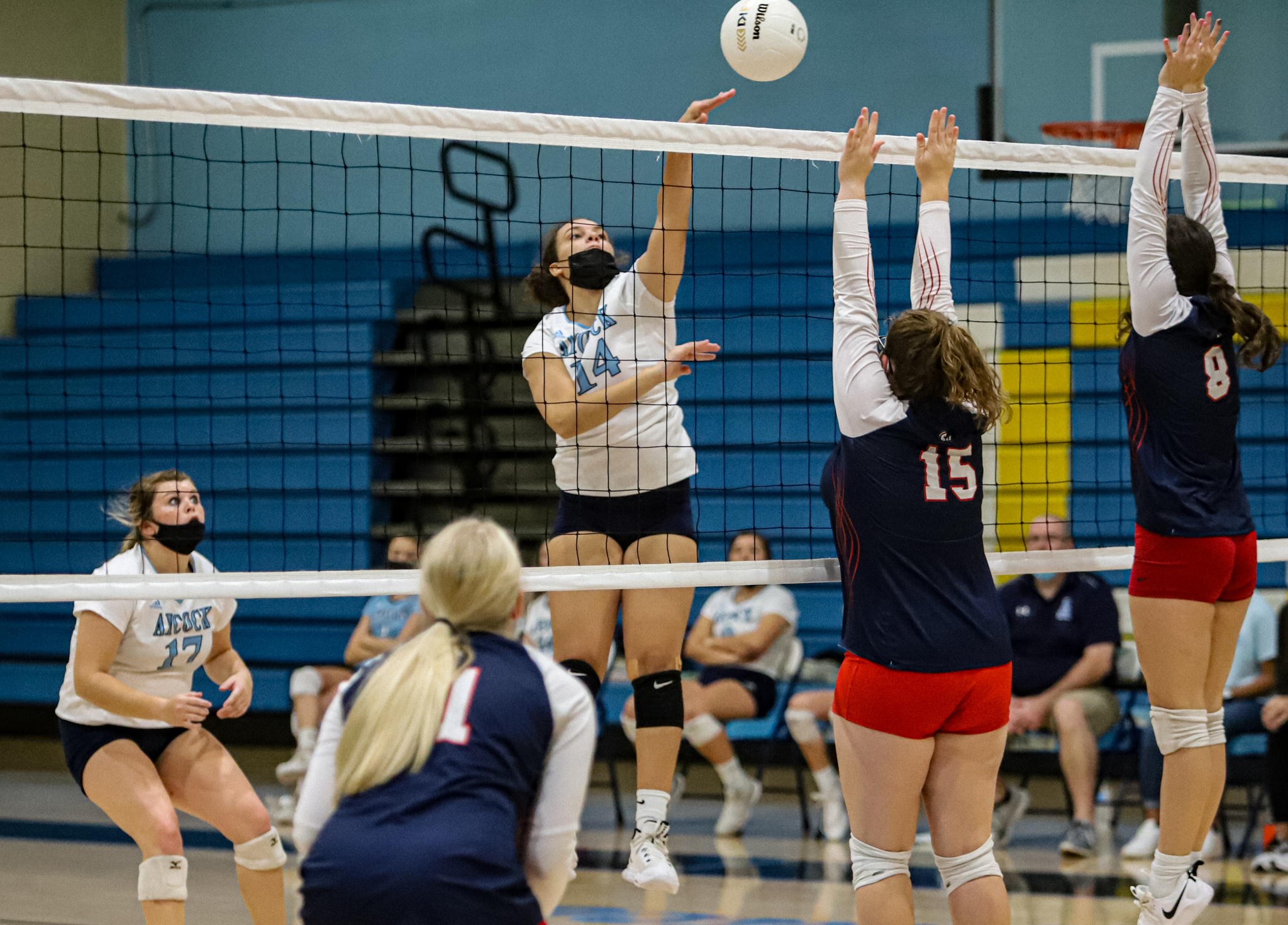 Volleyball: C.B. Aycock Tops Southern Wayne In Three Sets (PHOTO GALLERY)