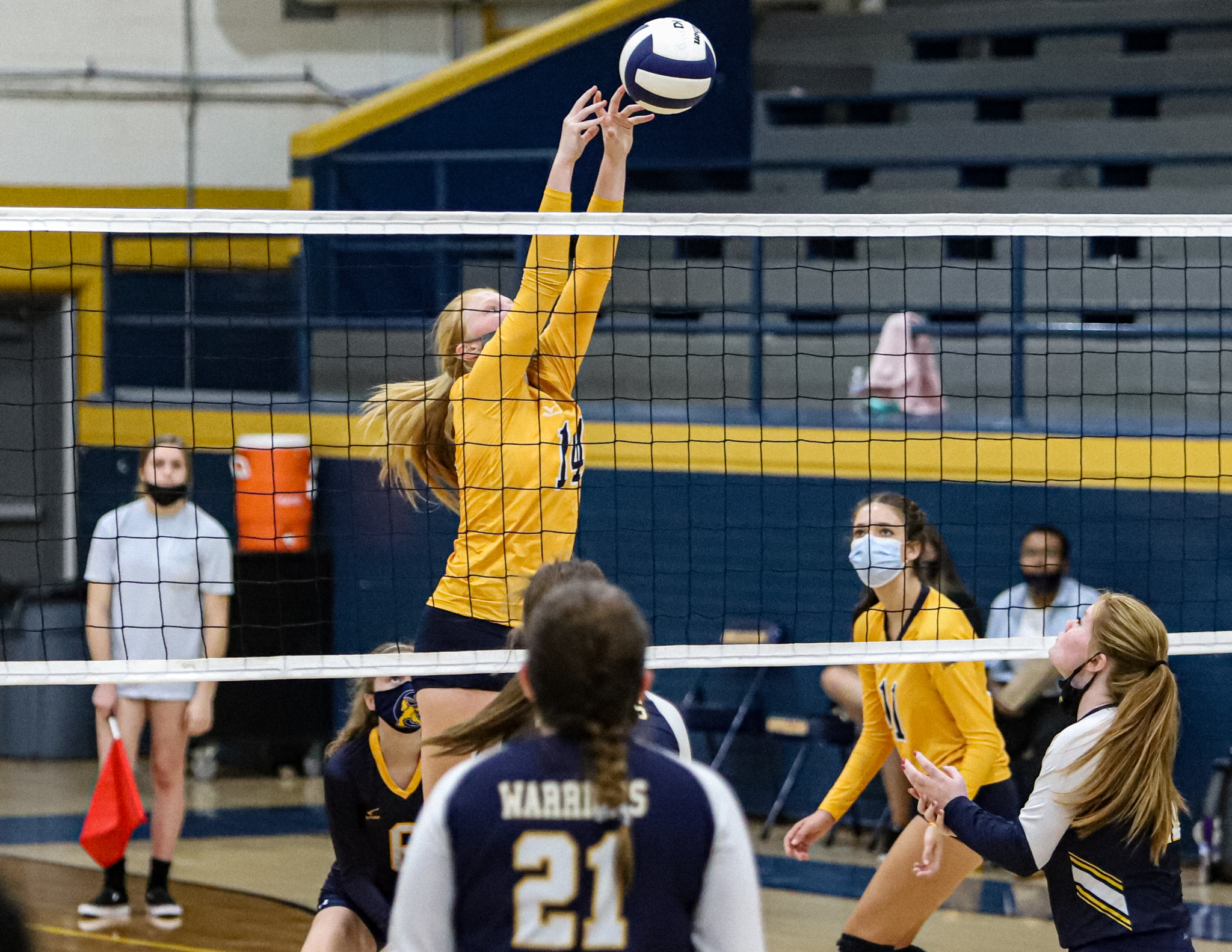 Volleyball: Goldsboro Sweeps Eastern Wayne In Conference Matchup (PHOTO GALLERY)