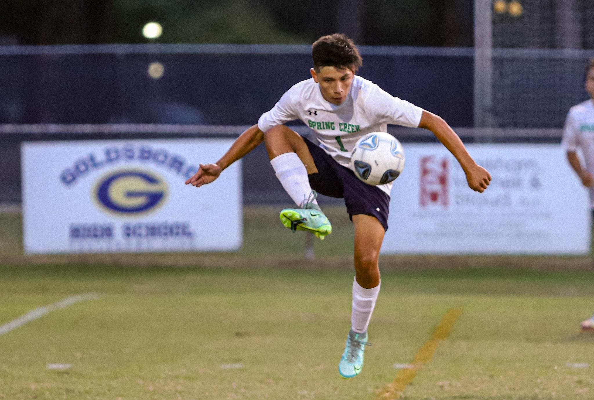 Boys Soccer: Spring Creek Shuts Out Goldsboro (PHOTO GALLERY)