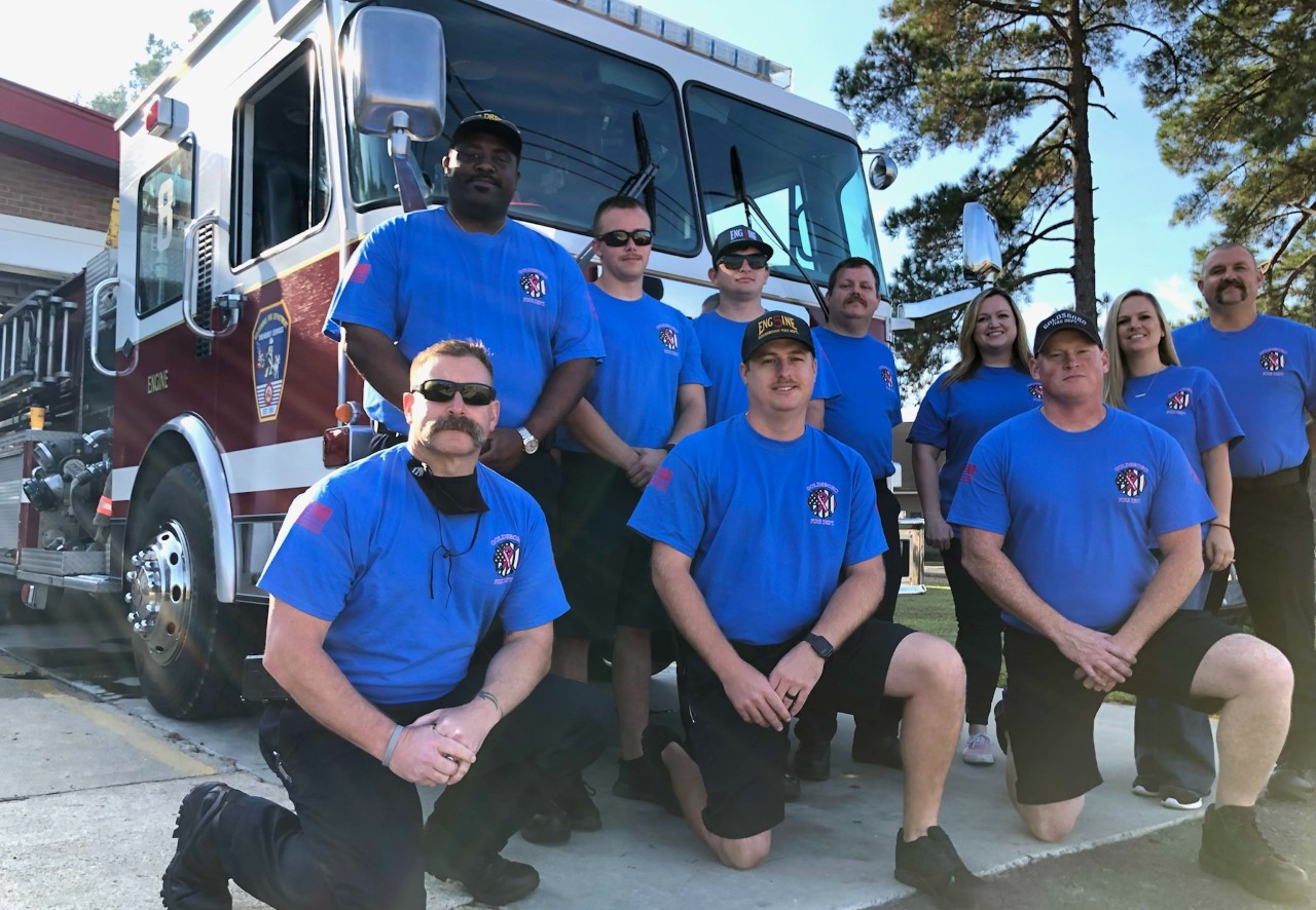 Goldsboro Fire Department Unveils 2021 Breast Cancer Awareness T-Shirts