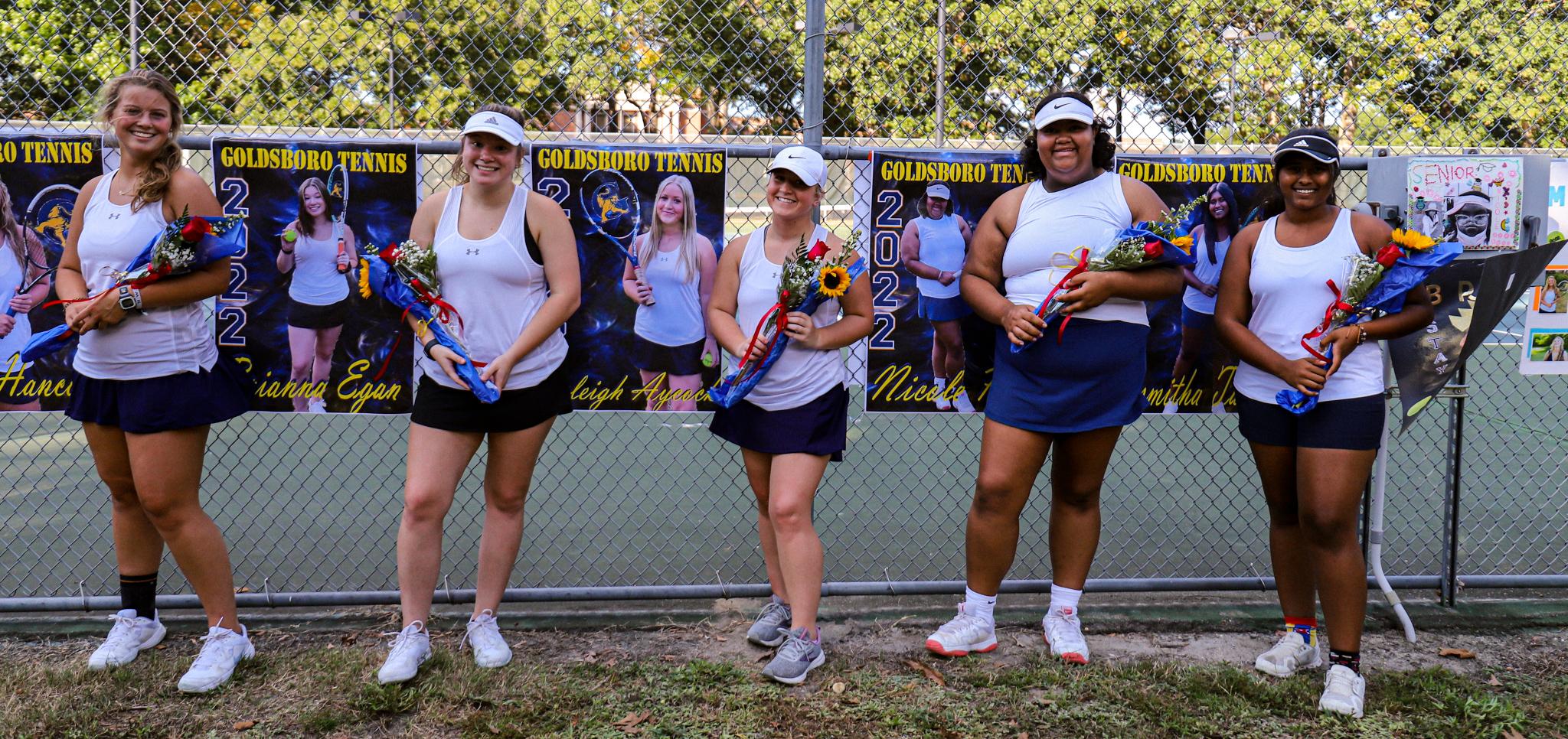 Girls Tennis: Goldsboro Defeats Spring Creek On Senior Night (PHOTO GALLERY)