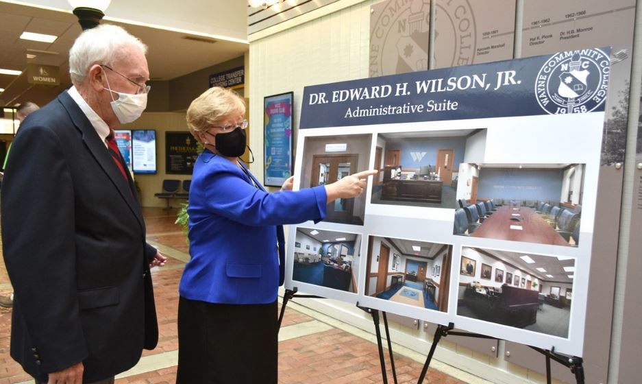 WCC's Administrative Suite Named For Dr. Edward H. Wilson Jr.  (PHOTO GALLERY)