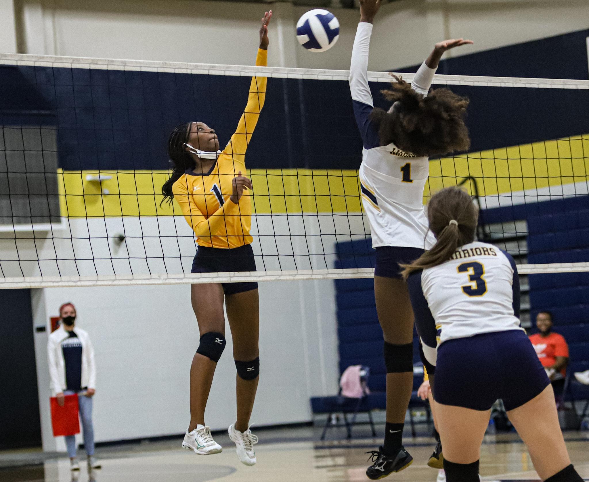 Volleyball: Goldsboro Wins Regular-Season Finale Against Eastern Wayne (PHOTO GALLERY)