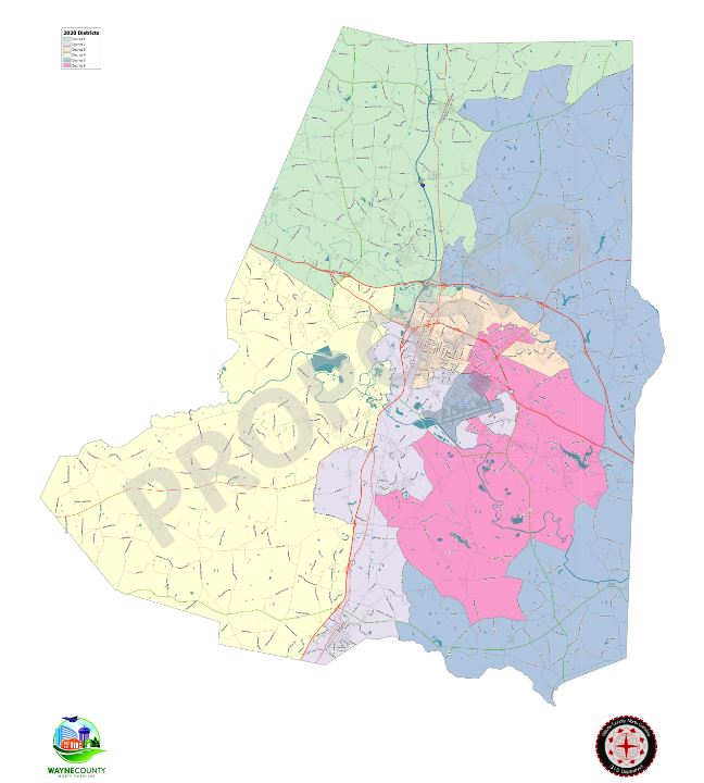County Sets Public Hearing On New Commissioner Electoral Districts