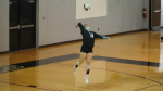 Volleyball: C.B. Aycock Falls in QCC Conference Title Game
