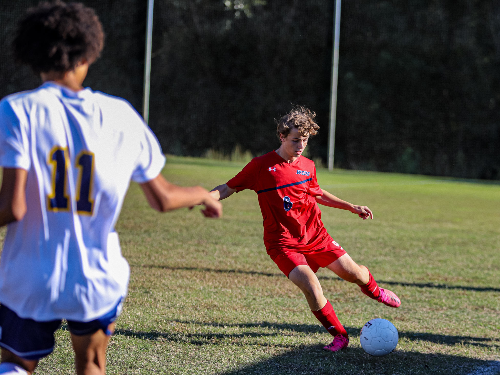 WCDS vs. John Paul II Boys' Soccer 10/21/21