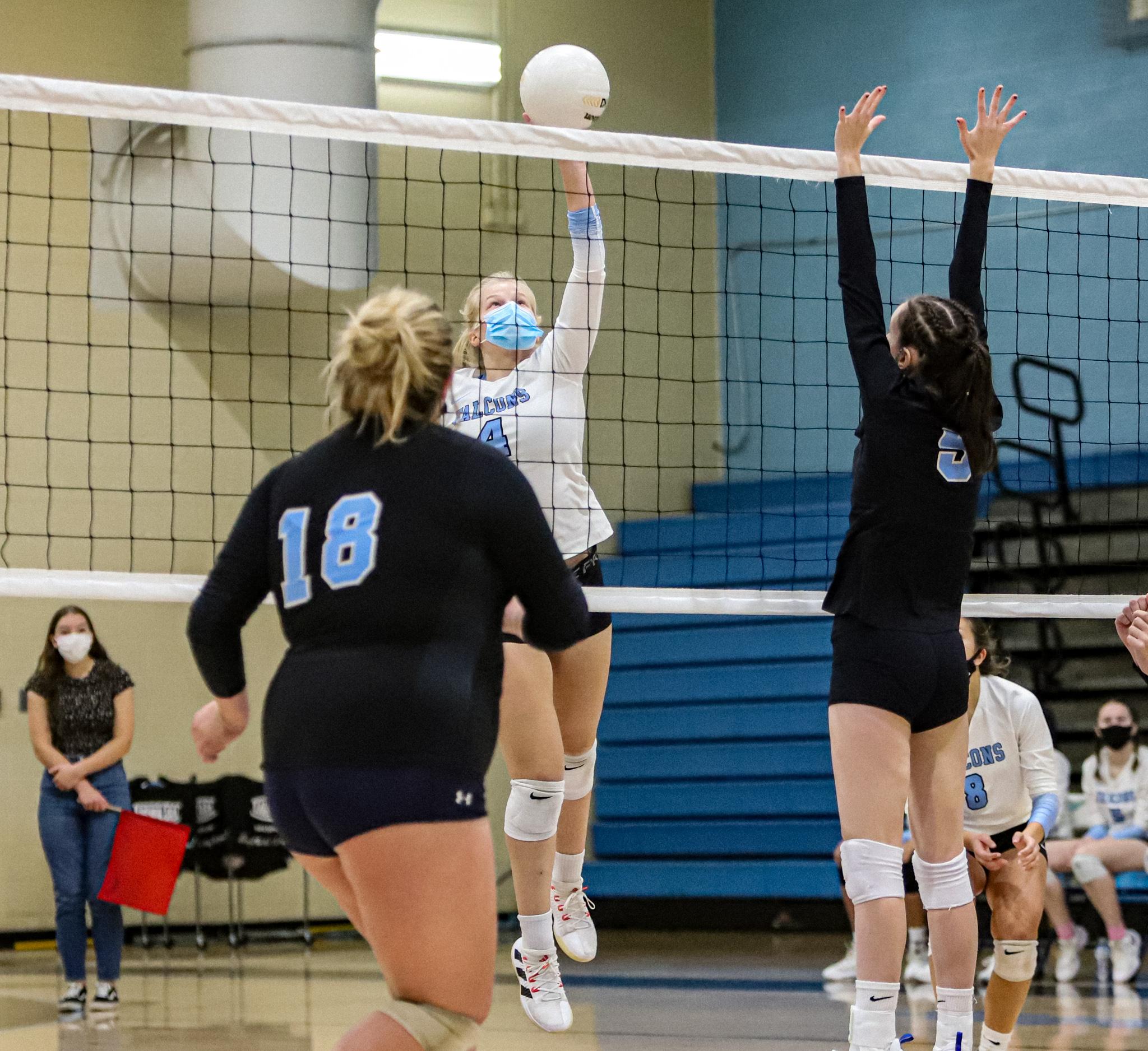 CBA vs. First Flight Volleyball 10/23/21