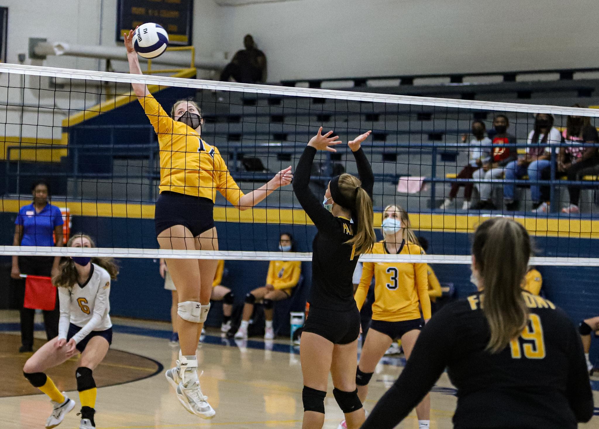 Goldsboro vs. Fairmont Volleyball 10/23/21