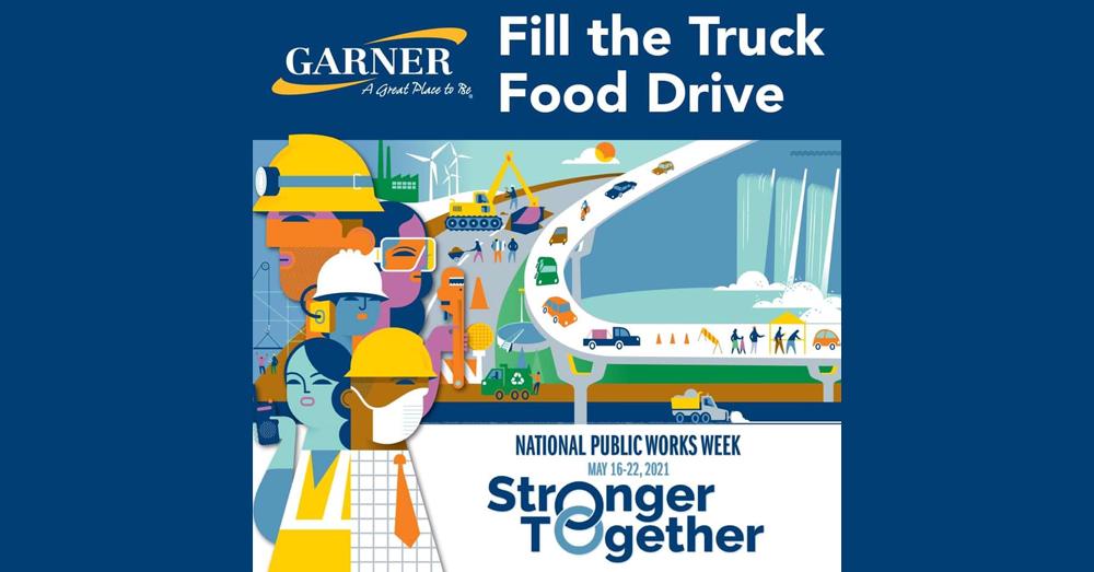 Fill The Truck Food Drive in Garner!