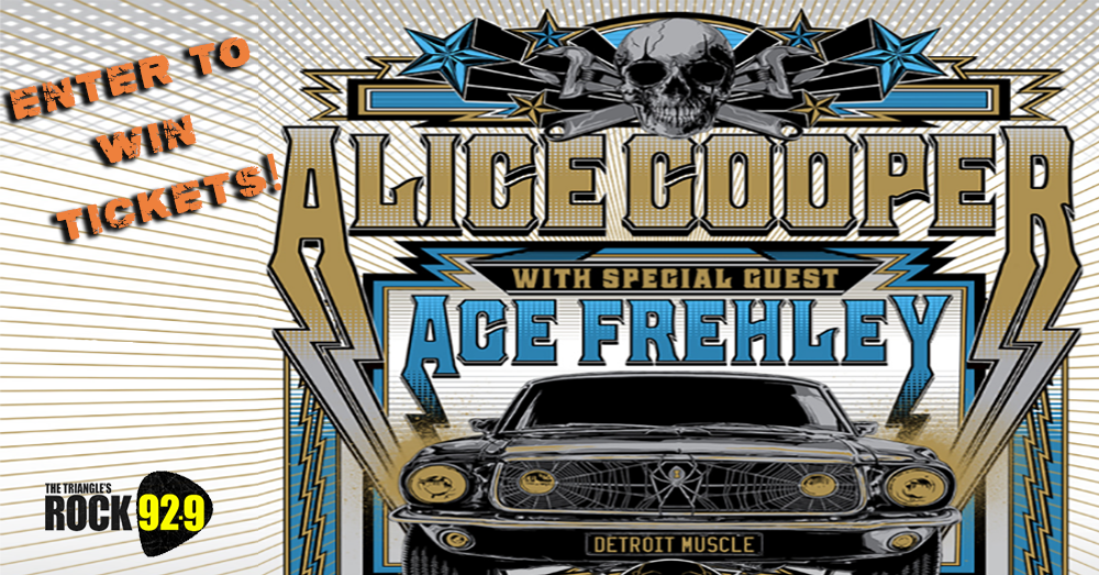 Enter To Win Tickets: Alice Cooper with Ace Frehley