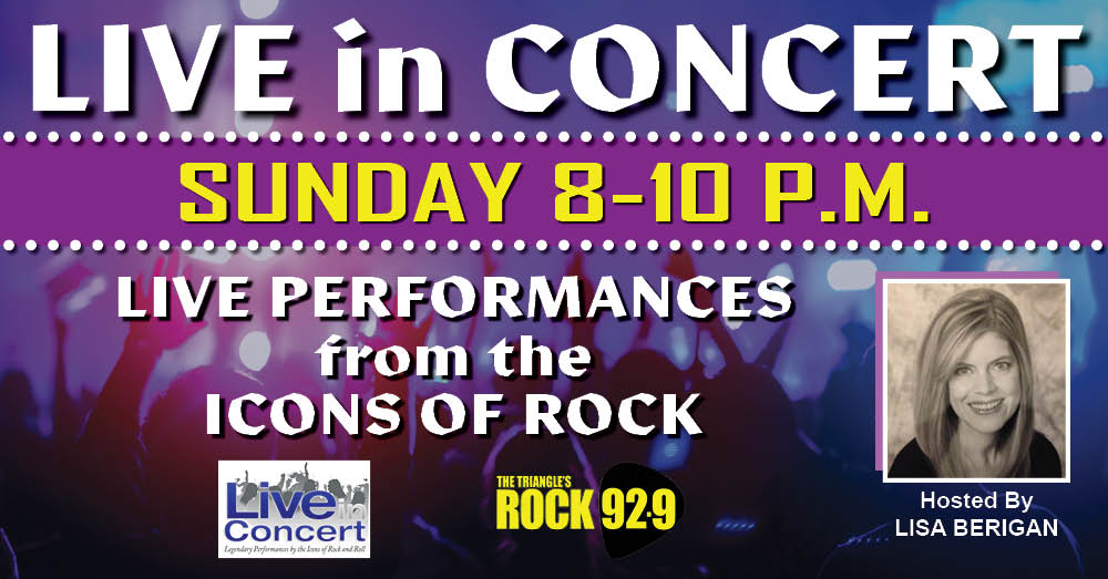 Live In Concert: Hosted by Lisa Berigan