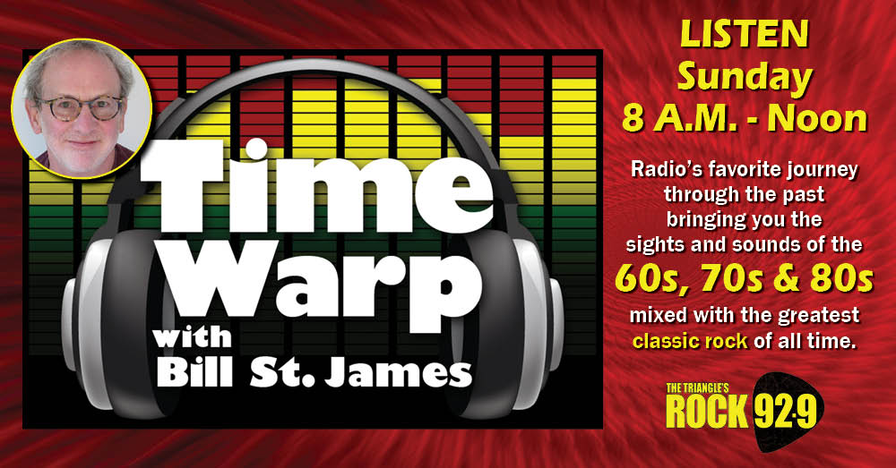 Time Warp with Bill St. James