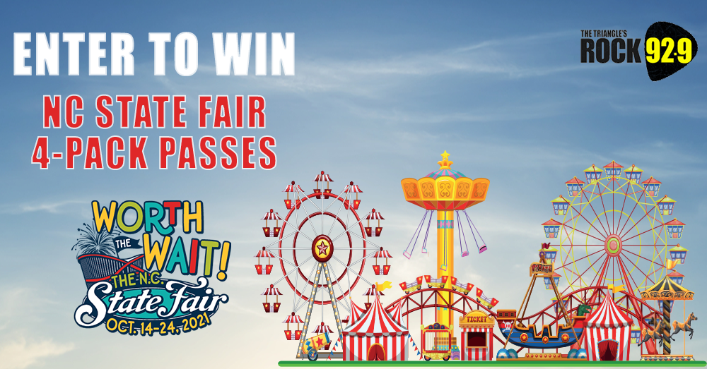 Enter to Win NC State Fair Passes