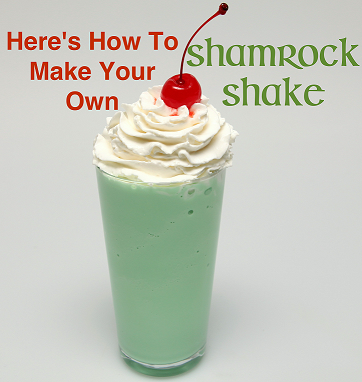 How to Make a Shamrock Shake