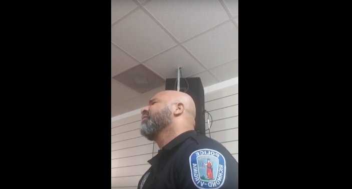Virginia Police Officer Becomes an Internet Sensation With His Voice [VIDEO]