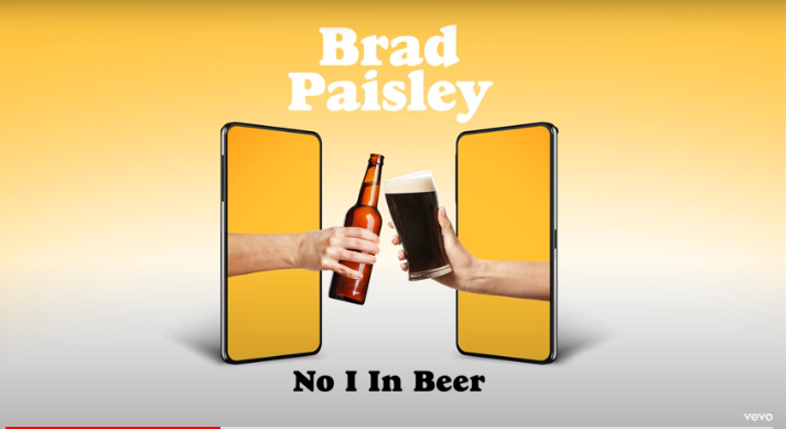 Brad Paisley Releases New Song of Unity in 'No I In Beer' [LISTEN]