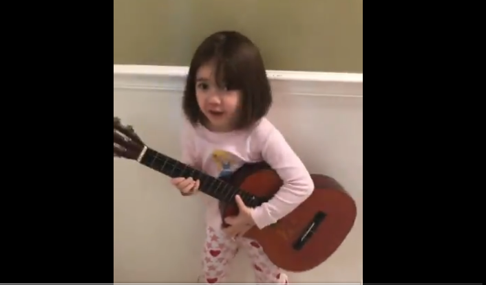 Watch This Adorable Little Kid Performs a Song that Only a Little Kid Would Write [VIDEO]
