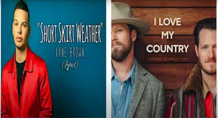 Does Florida Georgia Line's 'I Love My Country' Sound the Same as a Kane Brown Song?