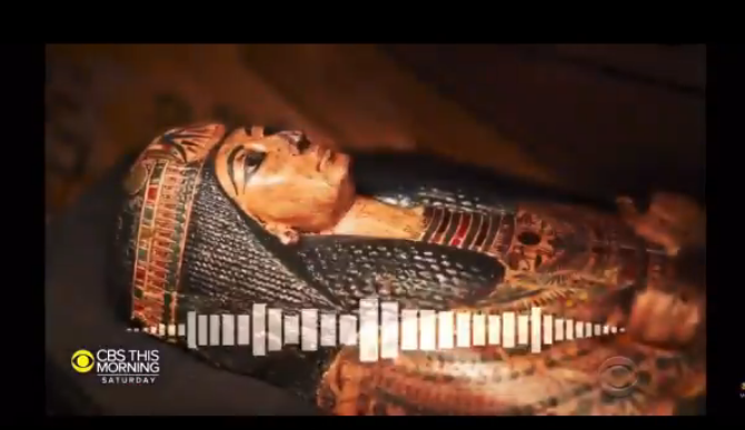 Scientists Discover the Voice of a Mummy [VIDEO PARODY]