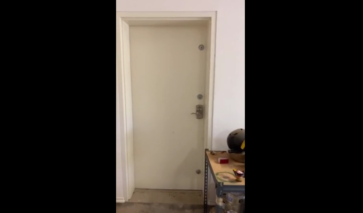 Curious Homeowner Opens Locked Door for the Very First Time and is Surprised to What He Finds [VIDEO]
