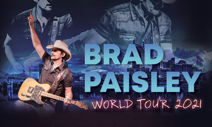 BRAD PAISLEY:  THURSDAY, SEPTEMBER 23—After Hours – Meadow Event Park