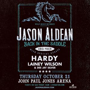 "JasonAldean ""Back In The Saddle 2021 Tour"": John Paul Jones Arena on October 21, 2021"