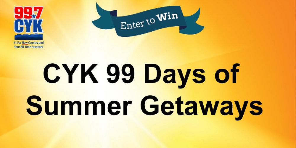 CYK 99 Days of Summer Getaways