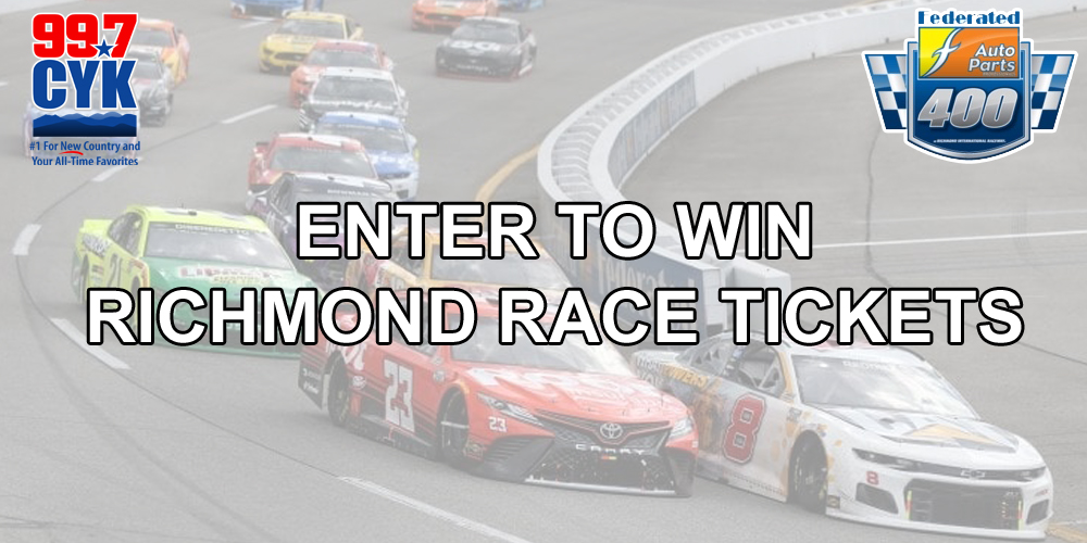 WIN TICKETS TO THE RICHMOND RACE!