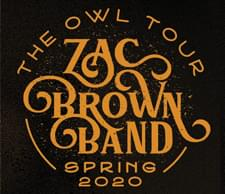 ENTER TO WIN Zac Brown Band Tickets 4/23