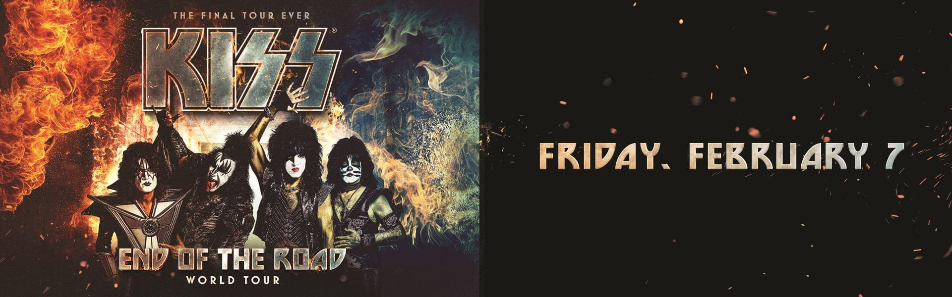 KISS: End of the Road World Tour with David Lee Roth (2/7)