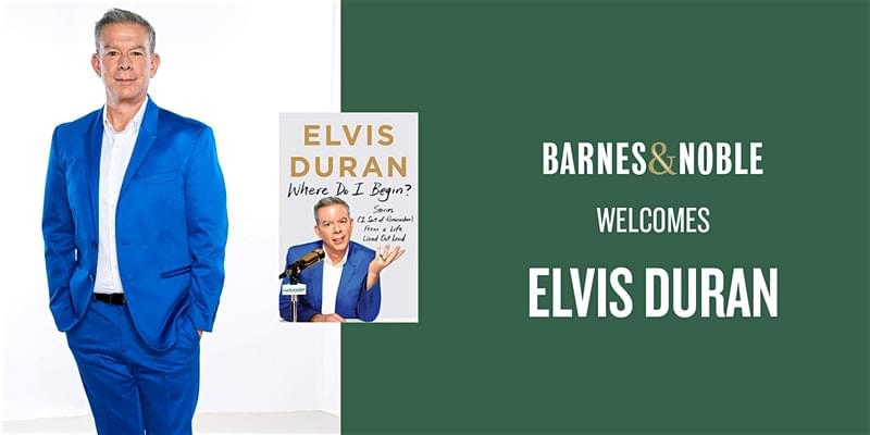 Elvis Duran at Barnes & Noble Chesterfield Town Center