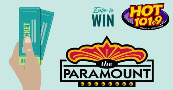 Enter to Win Movie Tickets:  The Paramount Theater