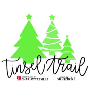 Check out the Charlottesville Tinsel Trail