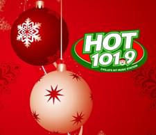 Call the Hot 101.9 Holiday Hotline: 434-202-4023